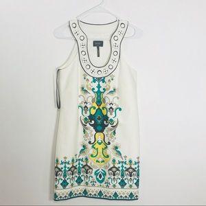 Laundry Shelli Segal floral dress women size 2 nwt